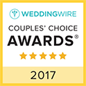 Wedding Wire Couples Choice Award 2017